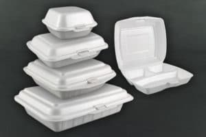 what is Styrofoam made up of