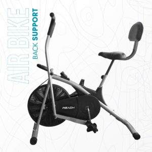 Reach Air - Best Exercise Bike with Back Support