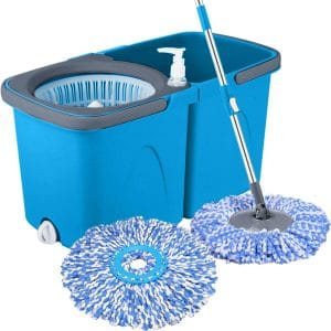 Primeway Pw710Mn Twin Bucket Rotating Spin Mop
